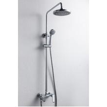 Душевая колонна со смесителем для ванны Bravat Opal R F6125183CP-A2-RUS