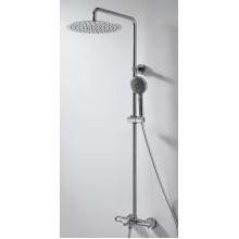 Душевая колонна с термостатическим смесителем для ванны Bravat Waterfall F639114C-A5-RUS
