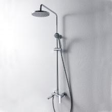Душевая колонна со смесителем для ванны Bravat Opal F6125183CP-A3-RUS