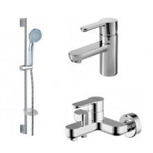 Комплект для ванной комнаты Bravat Stream 3 в 1 F00310C