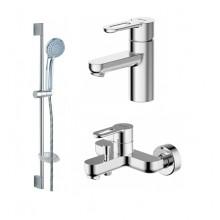 Комплект для ванной комнаты Bravat Stream-D 3 в 1  F00311C