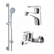 Комплект для ванной комнаты Bravat Eco 3 в 1 F00313C