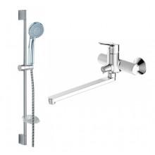 Комплект для ванной комнаты Bravat Drop 2 в 1 F00409C