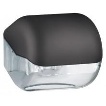 Диспенсер для туалетной бумаги в малых рулонах Nofer 5012 чёрный