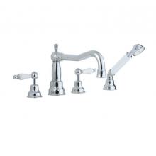 Смеситель для ванны Cisal Arcana Toscana TS00026421 хром