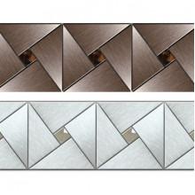 Декоративная вертикальная вставка Арт-мозаика на торцевую панель к ванне Радомир Ларедо 160х70 1-232-0-0-0-028
