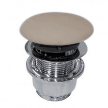 Донный клапан клик-клак Kerasan Nolita коричневый орех матовый 923381