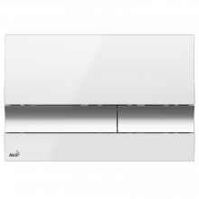 Клавиша смыва AlcaPlast Basic M1720-1, белый