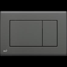 Клавиша смыва AlcaPlast Basic M277, антрацит