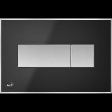 Клавиша смыва AlcaPlast Basic M1375, черный матовый