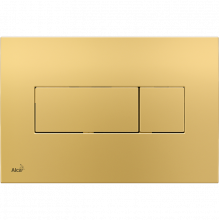 Клавиша смыва AlcaPlast Basic M375, золото