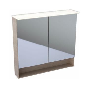 Шкаф-зеркало Geberit (Keramag) Acanto 500.646.00.2 дуб Мистик / меламин, структура дерева