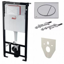 Скрытая cистема инсталляции AlcaPlast AM101/1120-4:1 RUS SET комплект AM101/1120+M71+M91