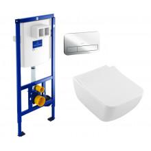 Комплект унитаз с инсталляцией Villeroy&Boch ViConnect 92246100