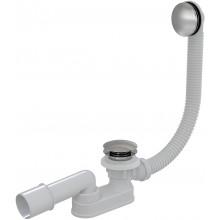 Сифон для ванны CLICK/CLACK, металл AlcaPlast A507KM-100