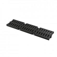 Pешетка для дренажного канала AVZ104, пластиковая А15 AlcaPlast AVZ-R401