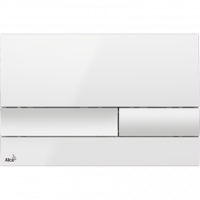 Клавиша смыва AlcaPlast Basic M1730, белый
