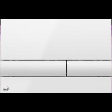 Клавиша смыва AlcaPlast Basic M1710, белый