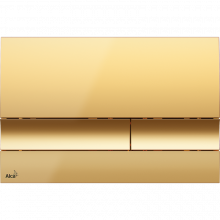 Клавиша смыва AlcaPlast Basic M1725, золото