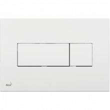 Клавиша смыва AlcaPlast Basic M370, белый