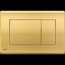 Клавиша смыва AlcaPlast Basic M275, золото