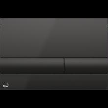 Клавиша смыва AlcaPlast Basic M1718, черный