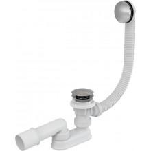 Сифон для ванны CLICK/CLACK, металл AlcaPlast A504KM-100