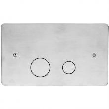 Клавиша Cisal для бачка Geberit нержавеющая сталь ZA001760D1