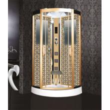 Душевая кабина Niagara Lux золотой рисунок 90х90 NG-7715G