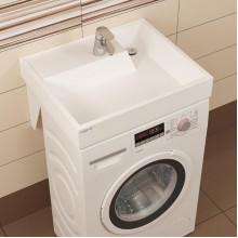 Раковина над стиральной машиной Санта Юпитер 60*9*50 900117 с кронштейнами