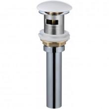 Донный клапан с переливом WeltWasser PP GL-WT белый глянец