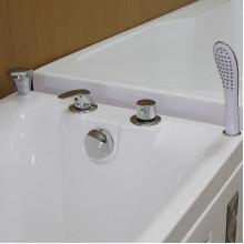 Смеситель на борт ванны Радомир Rosa хром 3-27-2-0-0-601