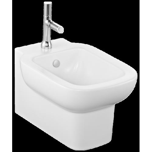 Биде подвесное Jacob Delafon Replay E4834-00 смеситель с гигиеническим душем для туалета бронза купить в
