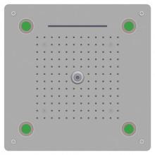 Верхний многофункциональный душ RGW SP-73 хром