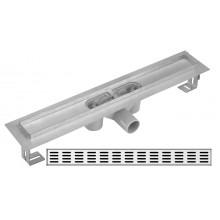 Душевой лоток Gllon 600мм SDL-02A60-DA660+FO600