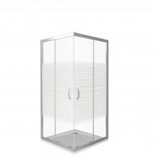 Душевой уголок Good Door Infinity CR -80 стекло Краска 6 мм