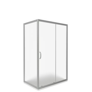 Душевой уголок Good Door Infinity WTW+SP R-120x80 стекло Grape 6 мм