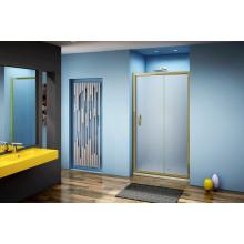 Душевая дверь Good Door JAZZE WTW-110 стекло Grape бронзовый профиль 6 мм