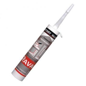 Санитарный силикон Ravak Professional белый/прозрачный