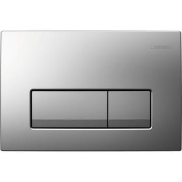 Клавиша смыва Geberit Delta 51 115.105.46.1 пластик, цвет хром матовый.