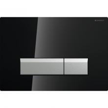 Клавиша смыва Geberit Sigma 40 115.600.SJ.1  со встроенной системой удаления запаха, металл, цвет чёрный