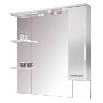 Зеркальный шкаф Акватон Эмили 105 1A008602EM01R