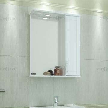 Зеркальный шкаф Санта Дублин 123002 60 правое