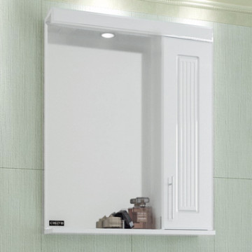 Зеркало-шкаф СанТа Сиэтл 60 свет R