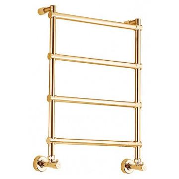 Полотенцесушитель водяной Margaroli Sole 370-442-4 золото