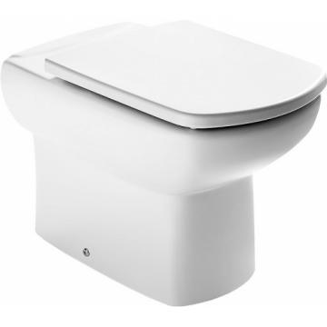 Унитаз приставной Roca Dama Senso compacto 347517000 с сиденье микролифт ZRU9000041