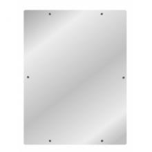 Антивандальное зеркало MOEFF из нержавеющей стали MF-6804 / MF-641