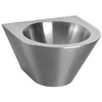 Умывальник подвесной Sanela, антивандальный, диаметр чаши 360 мм, 410х410х270 мм SLUN 59