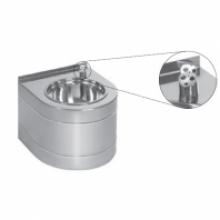 Фонтан питьевой Sanela, автоматический, с ИК датчиком, 330х380х300 мм, питание 24 В пост.