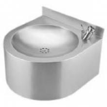Фонтан питьевой Sanela с нажимной арматурой, 350х350х155 мм SLUN 62